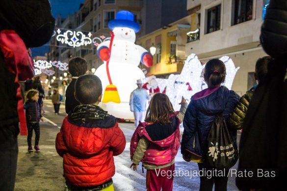 Papá Noel hace su primera parada en Guardamar 63