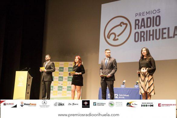 Emoción, diversión y magia en la II edición de los Premios Radio Orihuela 89