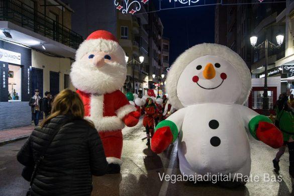 Papá Noel hace su primera parada en Guardamar 56