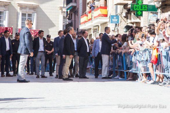 Los Reyes Felipe y Letizia visitan Orihuela 46
