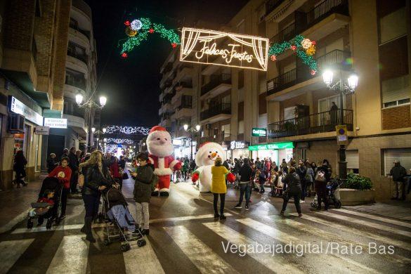 Papá Noel hace su primera parada en Guardamar 50