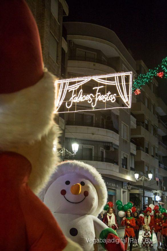 Papá Noel hace su primera parada en Guardamar 49