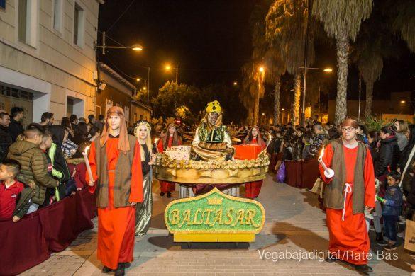 Melchor, Gaspar y Baltasar se dan un baño de multitudes 51