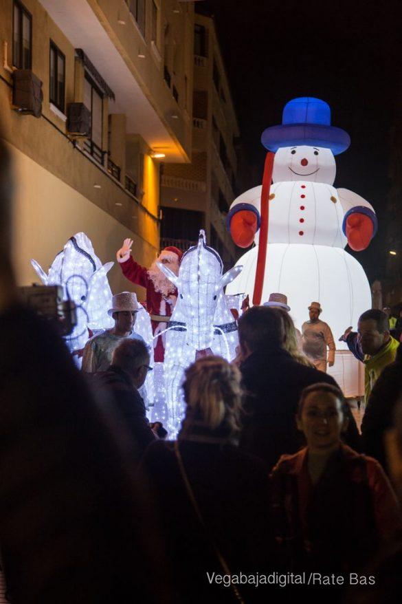 Papá Noel hace su primera parada en Guardamar 44