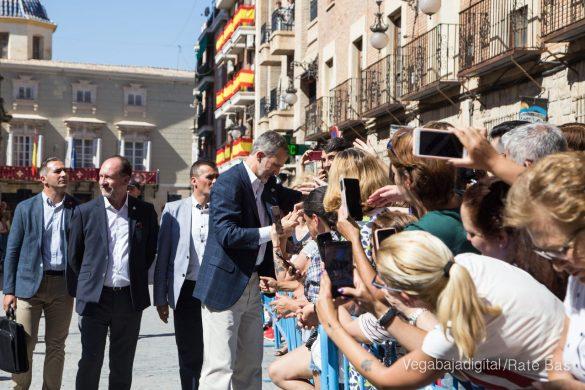 Los Reyes Felipe y Letizia visitan Orihuela 49