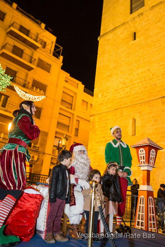 Papá Noel llena de ilusión a Orihuela 69