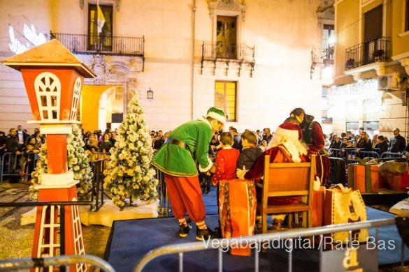 Papá Noel llena de ilusión a Orihuela 64