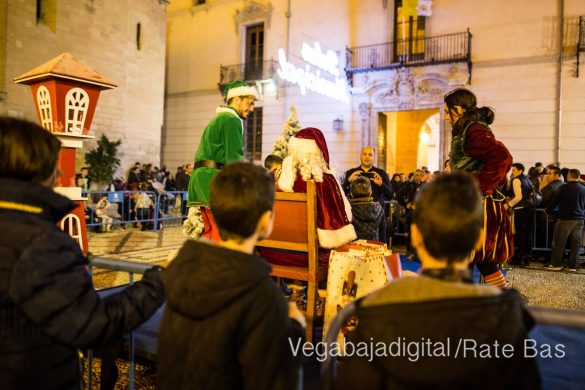 Papá Noel llena de ilusión a Orihuela 63