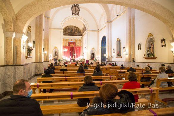 La Eucaristía de la Junta Mayor, adaptada a las circunstancias sanitarias 14