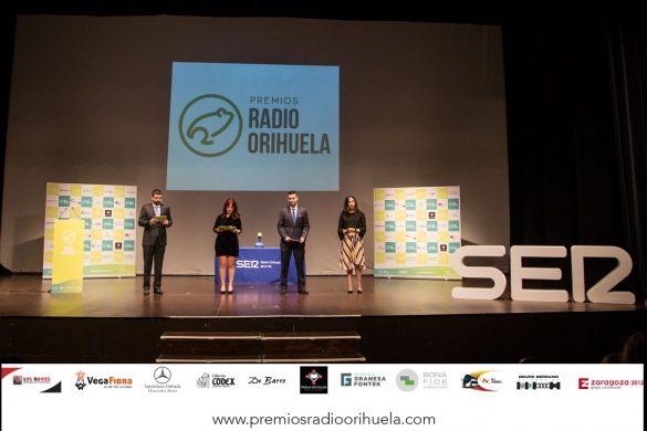 Emoción, diversión y magia en la II edición de los Premios Radio Orihuela 123