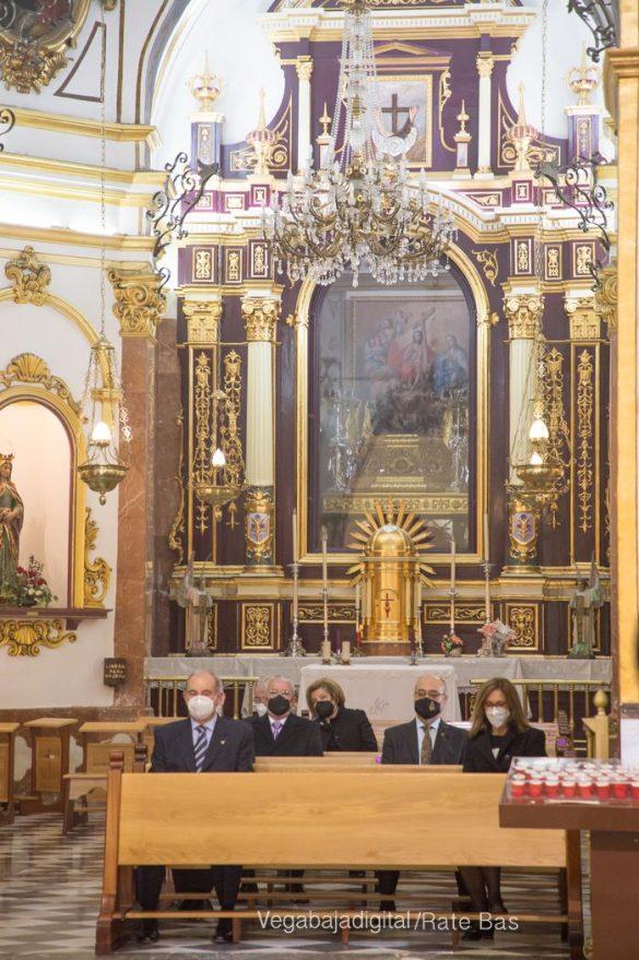 La Eucaristía de la Junta Mayor, adaptada a las circunstancias sanitarias 39