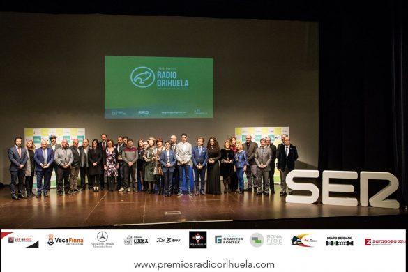 Emoción, diversión y magia en la II edición de los Premios Radio Orihuela 126
