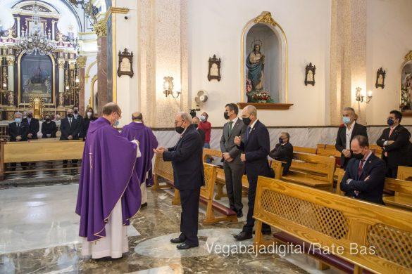 La Eucaristía de la Junta Mayor, adaptada a las circunstancias sanitarias 47