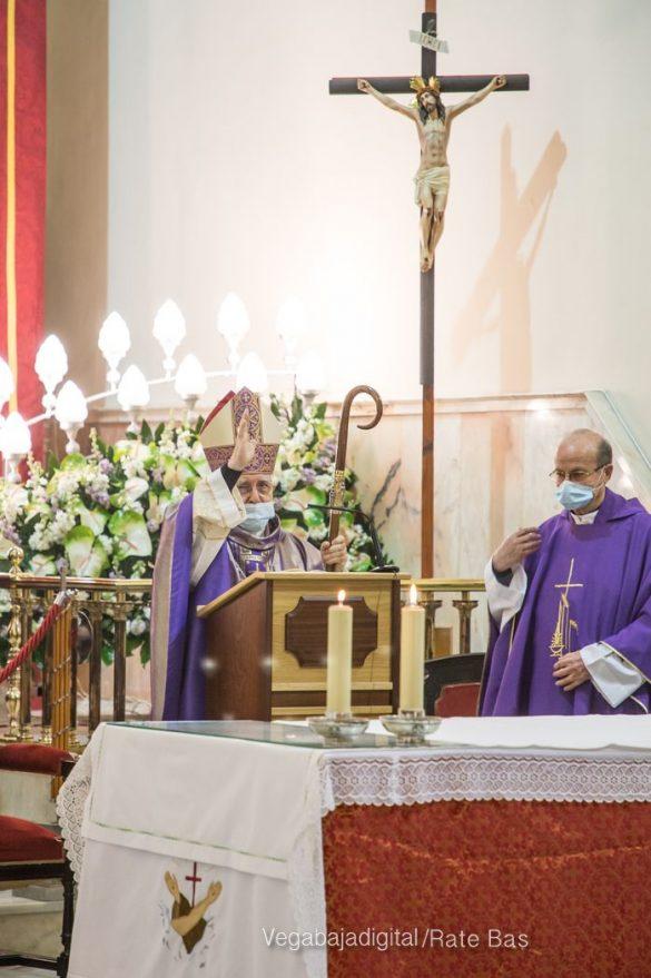 La Eucaristía de la Junta Mayor, adaptada a las circunstancias sanitarias 57