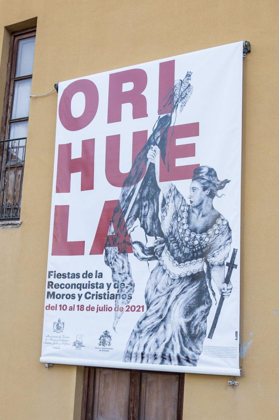 El cartel de Fiestas se inspira en La Libertad guiando al pueblo 6