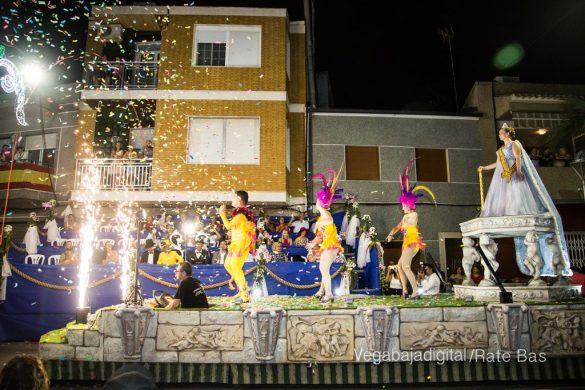 Desfile de carrozas de Jacarilla 86