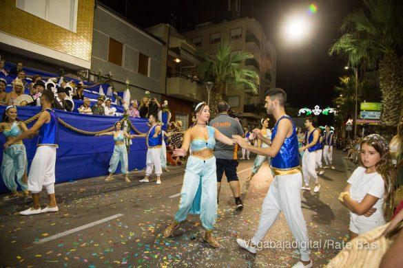Desfile de carrozas de Jacarilla 96