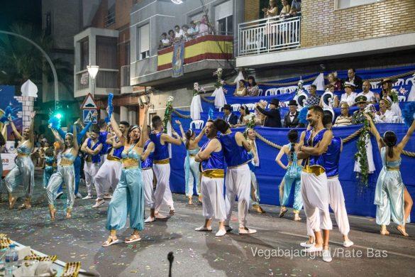 Desfile de carrozas de Jacarilla 100