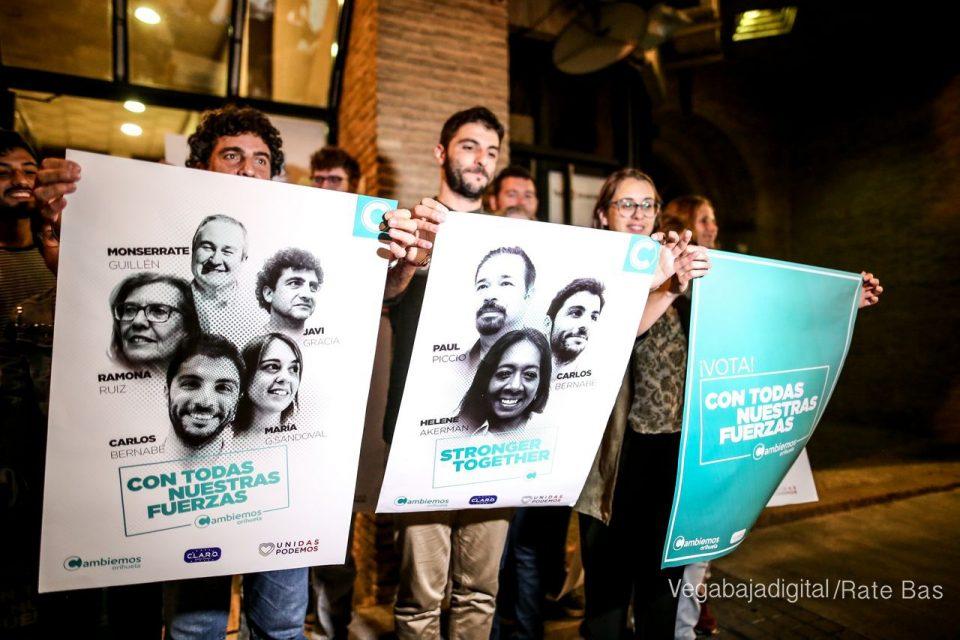 Cambiemos presenta a su equipo hoy viernes en la Glorieta Gabriel Miró 6
