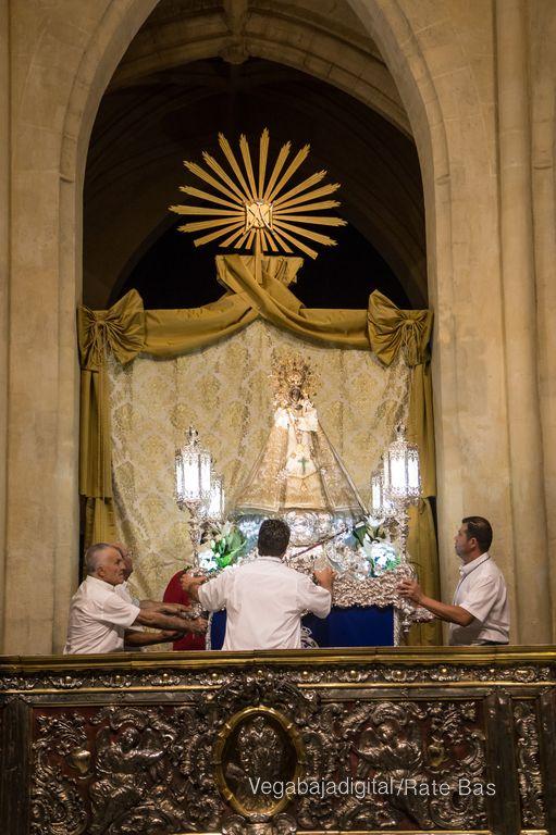 La Patrona de Orihuela ya está en la Catedral 84