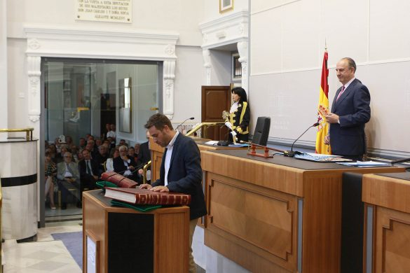 La Diputación comienza el mandato con siete representantes de la Vega Baja 42