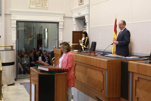 La Diputación comienza el mandato con siete representantes de la Vega Baja 39