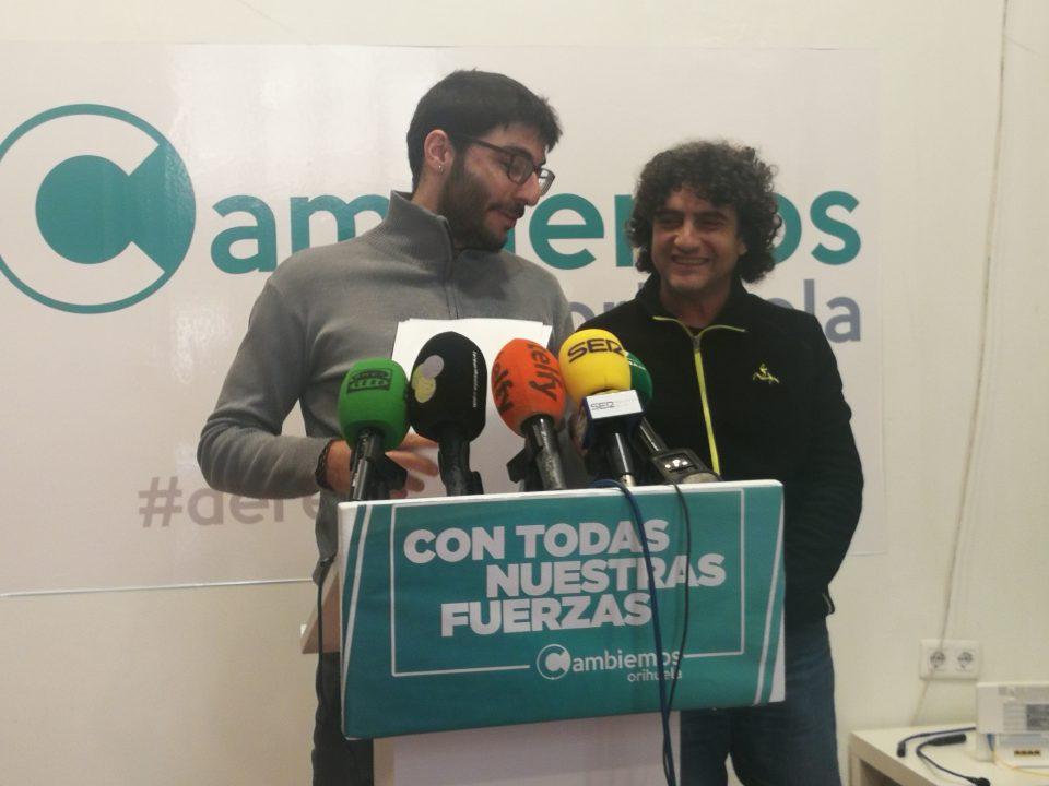 Cambiemos Orihuela pide revisar los contratos de agua del Ayuntamiento 6