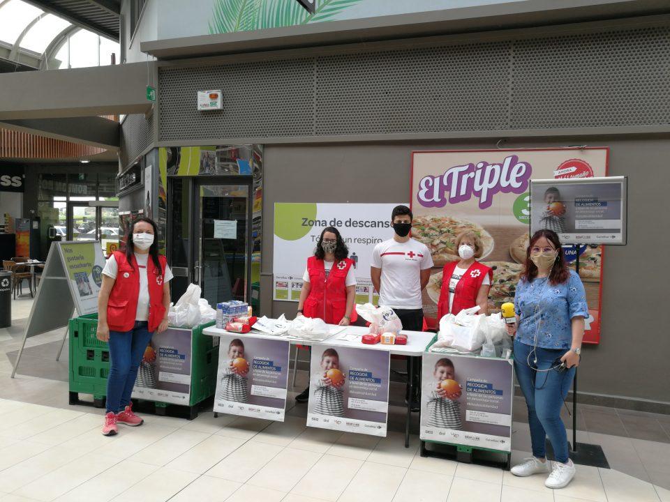 Cruz Roja, Carrefour y la SER ponen en marcha una campaña de recogida de alimentos 6