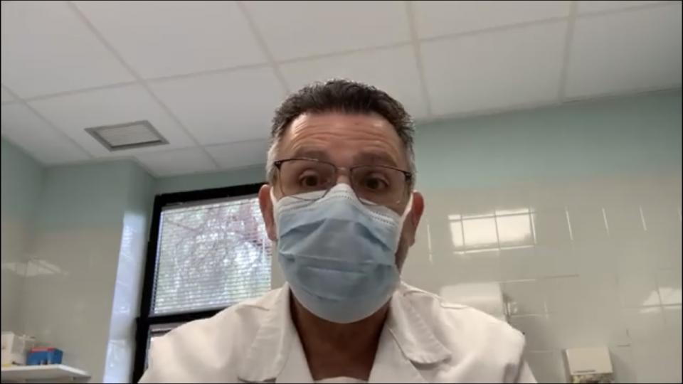 Doctor Manuel Pineda, del Despacho a la Consulta 6