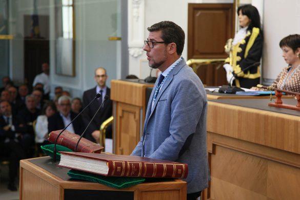 La Diputación comienza el mandato con siete representantes de la Vega Baja 17