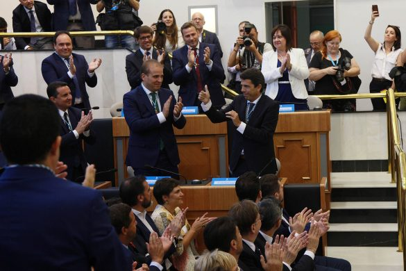La Diputación comienza el mandato con siete representantes de la Vega Baja 15