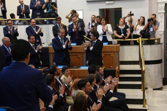 La Diputación comienza el mandato con siete representantes de la Vega Baja 14