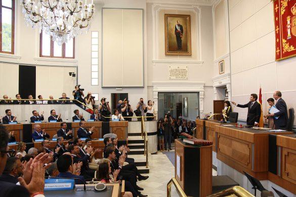La Diputación comienza el mandato con siete representantes de la Vega Baja 12