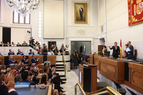 La Diputación comienza el mandato con siete representantes de la Vega Baja 11