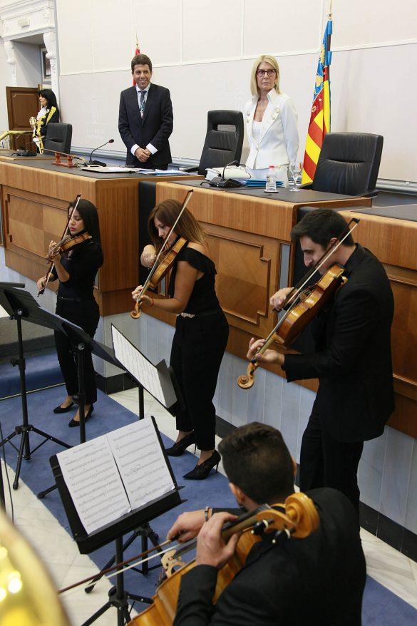 La Diputación comienza el mandato con siete representantes de la Vega Baja 8