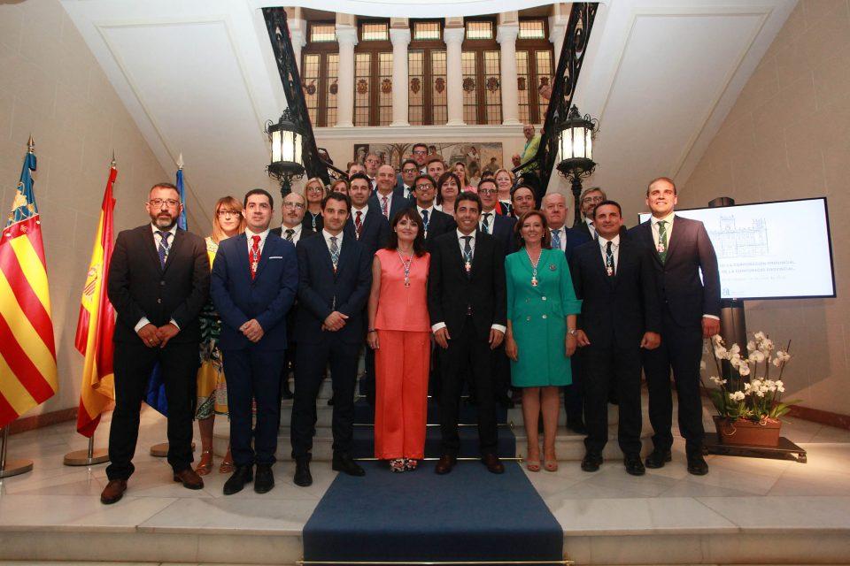 La Diputación comienza el mandato con siete representantes de la Vega Baja 6
