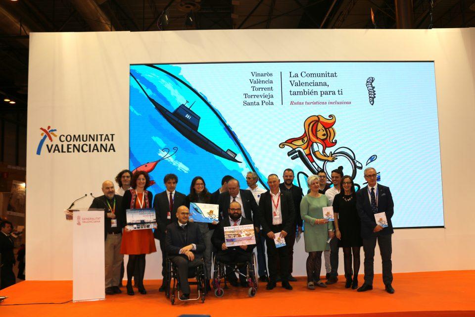 Torrevieja desvela en FITUR que cuenta con el primer submarino adaptado del mundo 6