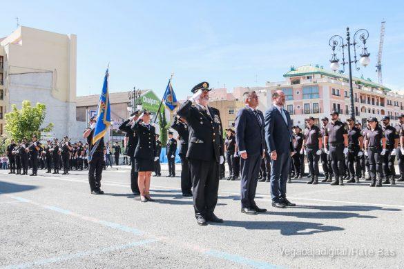 El acto homenaje de la Policía Nacional en imágenes 107