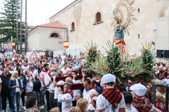 La Romería del Pilar en Benejúzar, más multitudinaria que nunca 74
