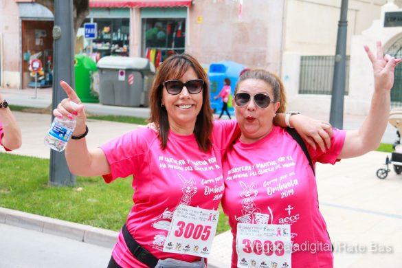 La solidaridad rosa gana la carrera contra el cáncer 81