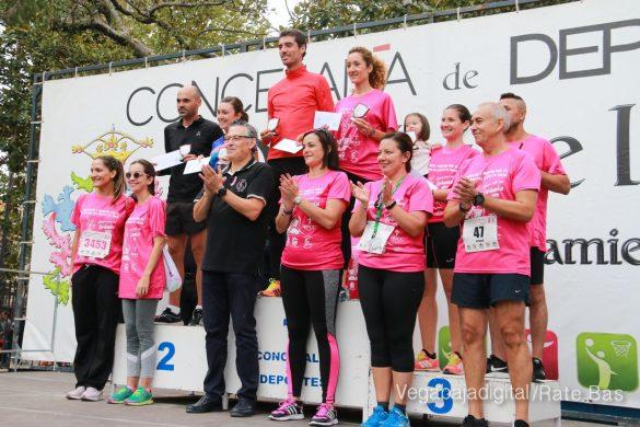 La solidaridad rosa gana la carrera contra el cáncer 153