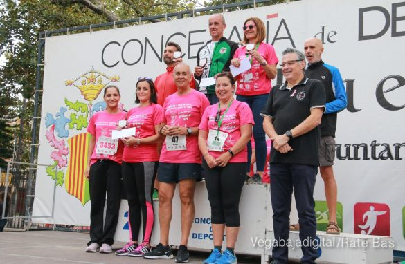 La solidaridad rosa gana la carrera contra el cáncer 155