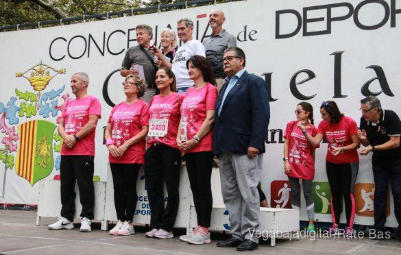 La solidaridad rosa gana la carrera contra el cáncer 156