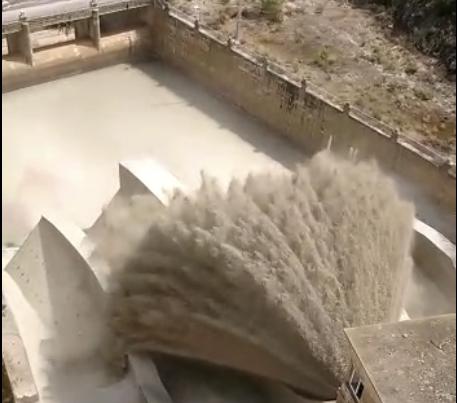 Abren el Pantano de Santomera y la Vega Baja se inunda todavía más 6
