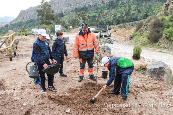Los escolares de Orihuela reforestan el monte de San Miguel 29