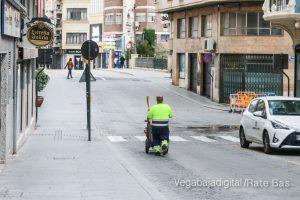 Así están las calles de Orihuela durante el estado de alarma 15