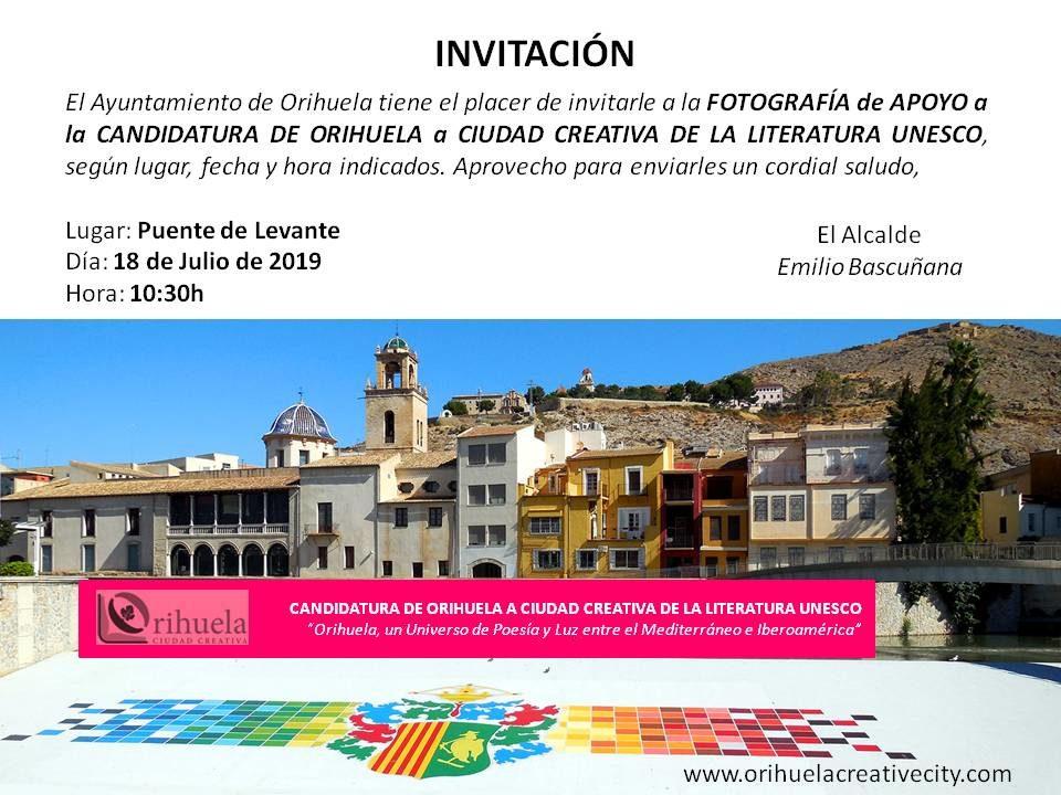 Una multitudinaria fotografía para apoyar la candidatura de Ciudad UNESCO 6