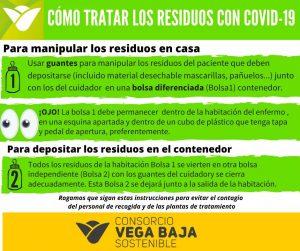 Llamamiento para una buena gestión de los residuos y evitar contagios COVID19 7