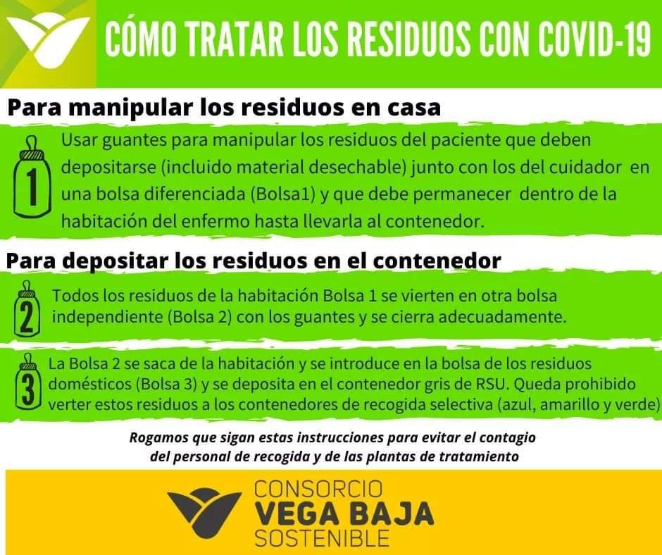 Llamamiento para una buena gestión de los residuos y evitar contagios COVID19 6