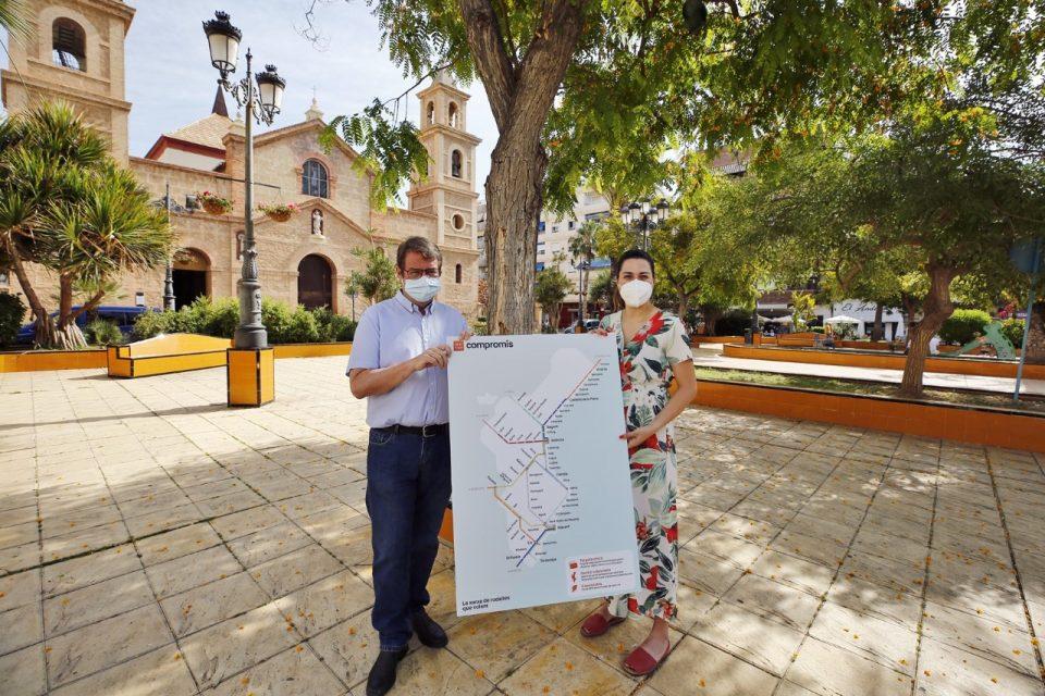Compromís pide una estación de trenes en Torrevieja y electrificar la conexión con Murcia 6
